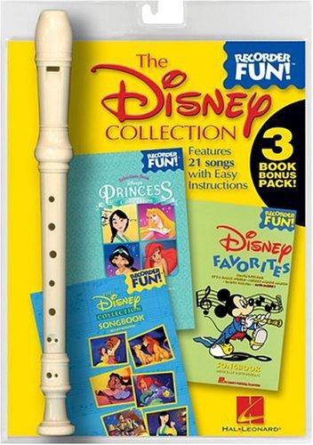 The Disney Collection (Recorder): Recorder Fun! 3-Book Bonus Pack