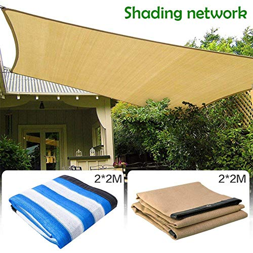 eronde 90% Sunblock Shade Cloth 6#039x 6#039 Sun Mesh Shade Sunblock Shade Sail for Carport PergolaGreenhouse Flowers Plants Patio Lawn and Pet House