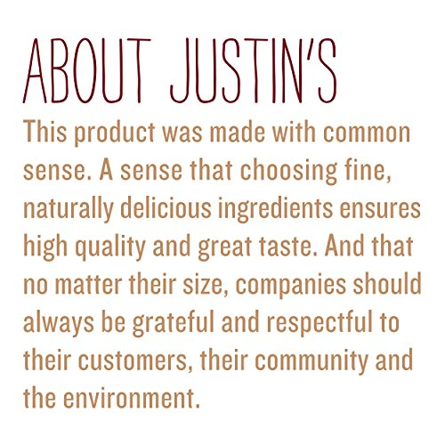 Justin's Classic Almond Butter, Only Two Ingredients, No Stir, Gluten-free, Non-GMO, Keto-friendly, Responsibly Sourced, 16oz Jar