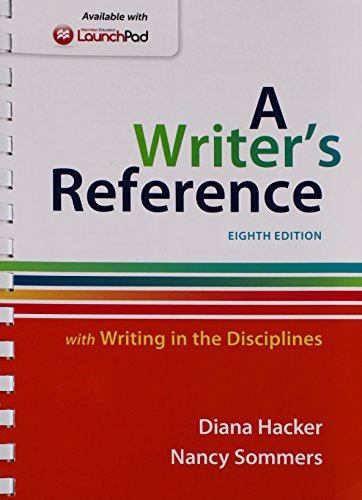 a writers reference with exercises 9th edition pdf