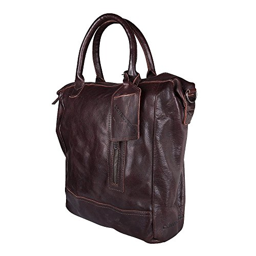 Cowboysbag Georgio, Unisex - Adulto Marrone