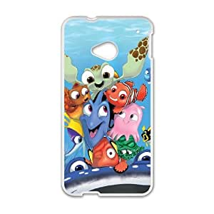 HTC One M7 case , Finding Nemo Cell phone case White for HTC One M7 - LLKK0771682