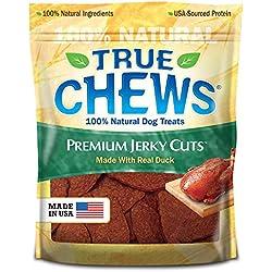 True Chews Premium Jerky Cuts Dog Treats, Duck, 12 Ounce