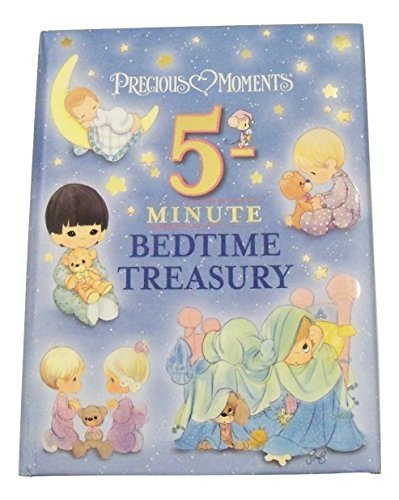 Precious Moments Padded Educational Storybook Collection ~ 5 Minute Bedtime Bible Stories and Scripture Passages! (1st Edition; 2015)
