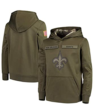 finest selection 5f2d0 1a1ae Amazon.com: Beverly Wray New Orleans Saints Apparel Salute ...