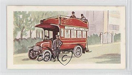 Maudslay Omnibus - 1907 (Trading Card) 1955 Miranda Confectioners 100 Years of Motoring - Food Issue [Base] #31
