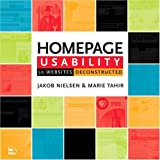 Homepage Usability, Jakob Nielsen and Marie Tahir, 073571102X