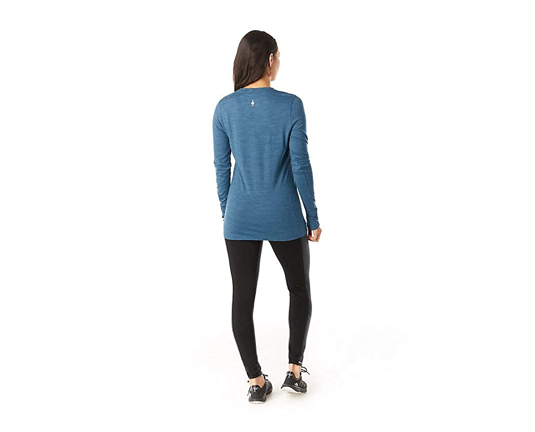 SmartWool Merino Sport 150 Powder Flower Long Sleeve T-Shirt Donna