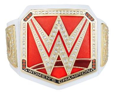 WWE Women's World Championship Replica Title Belt