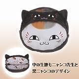 Natsume head of the friends book stuffed pouch black puss puss teacher separately Banpresto prize