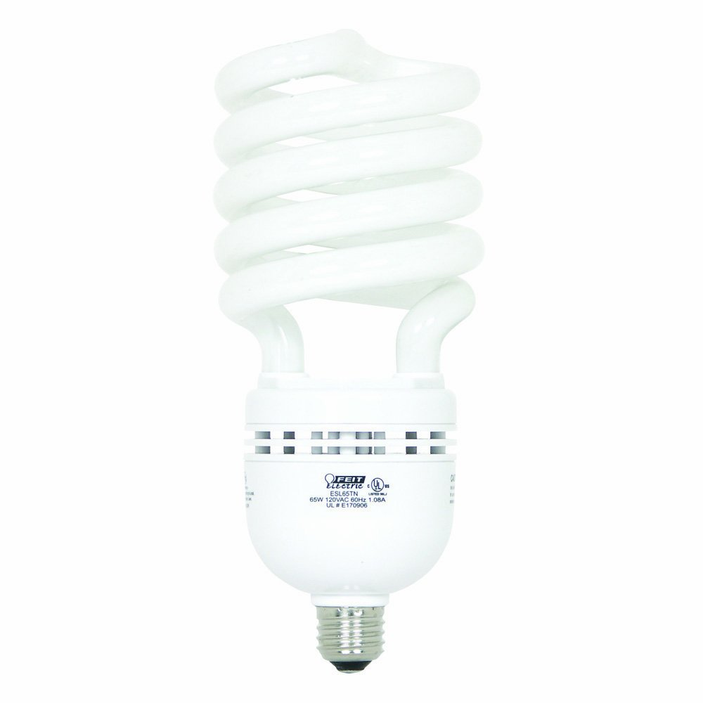 Feit Electric High Lumen Twist CFL 300W Equivalent Soft White 2700K Light Bulb ESL65TN HH-10011377