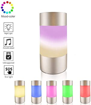 shentianmei Touch Sensor Bedside LED Lamp with Internal Power Bank