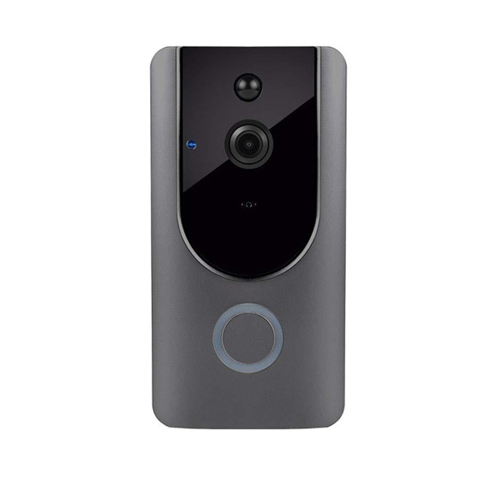 LSY Smart WiFi Doorbell, Home Alarm Smart Doorbell, Handy-Betrieb, Drahtlose Türklingel, Video-Sprechanlage