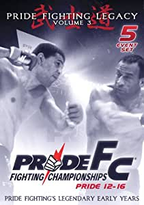 Pride Fighting Championships - Pride 12-16 - Volume 3 - 5 Event Set [Import]