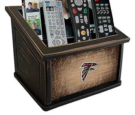Fan Creations N0765 ATL Atlanta Falcons Woodgrain Media Organizer,  Multicolored