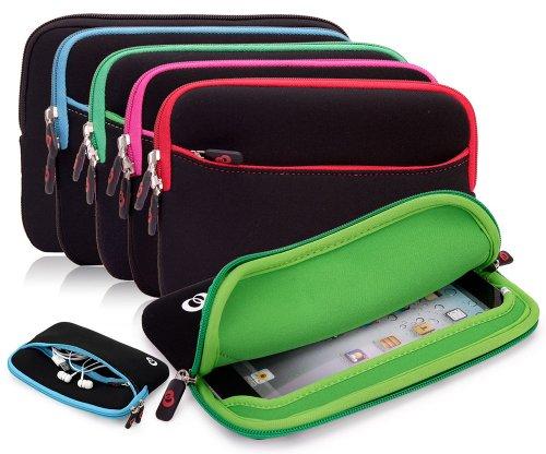 Black Raven Alcatel Fire 7 Hero 8, Alcatel One Touch Evo 7 HD 8 HD Fire 7 Pixi 7 Idol Pop 7 Pop 8 T10 Tab 7 Tab 8 HD Tablet Sleeve | Kroo Travel Case