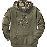 Legendary Whitetails Mens Outfitter Hoodie Army X-Large