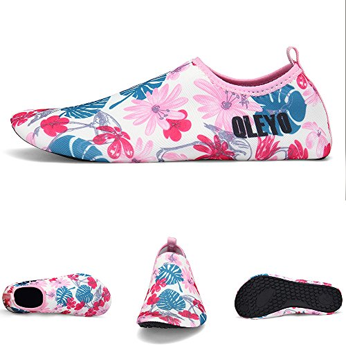 Shoes Men Barefoot Water Shoes Shoes QLEYO surf Style24 Quick Swim Skin Dry for Shoes for Beach and Yoga Women Water xwYwnzfqF5