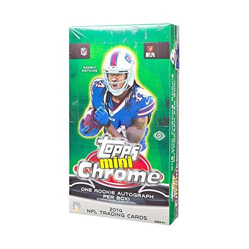(2014 Topps Chrome Mini Football Hobby Box)