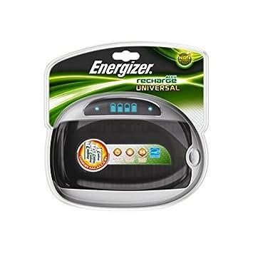 Cargador universal o cuatro Energizer-Pilas AA/AAA/C/D/9/-3 ...
