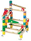 Hape Quadrilla Wooden Marble Run Construction Rail Add On Set