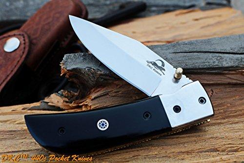 DKC Knives DKC-122-440c Night Rider 440c Stainless Steel 4.5' Folded 8