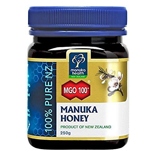 New Zealand Honey - MANUKA HEALTH - MGO 100+ Manuka Honey, 100% Pure New Zealand Honey, 8.8 oz (250 g)