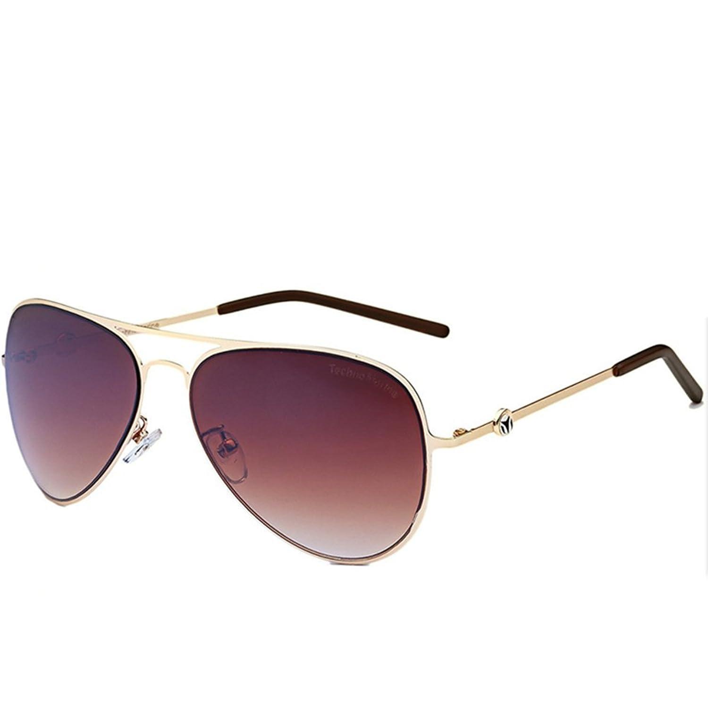 LuxuryEye Fashion Party Unisex Big Women Man Metal Attracitve Sunglasses