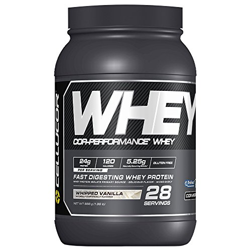 Cellucor Whey Protein Isolate & Concentrate Blend Powder with BCAA, Post Workout Recovery Drink, Gluten Free Low Carb Low Fat, Whipped Vanilla, 28 Servings