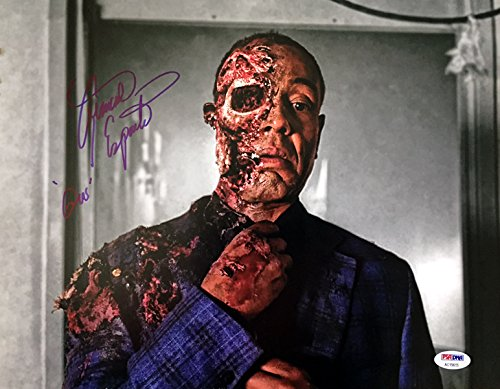 GIANCARLO ESPOSITO SIGNED AUTOGRAPHED 11x14 PHOTO GUS FRING BREAKING BAD PSA/DNA