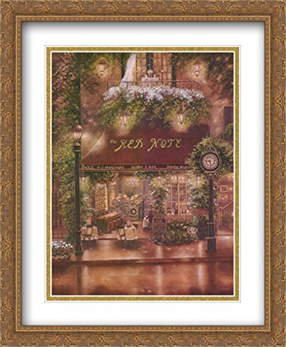 Peter Prisco Trio II 2X Matted 26x32 Large Gold Ornate Framed Art Print by Betsy Brown