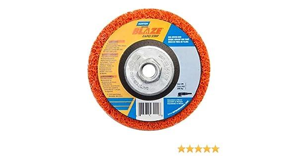 NORTON 66623303919 Type 27 Grinding Wheel,7 In,5//8-11