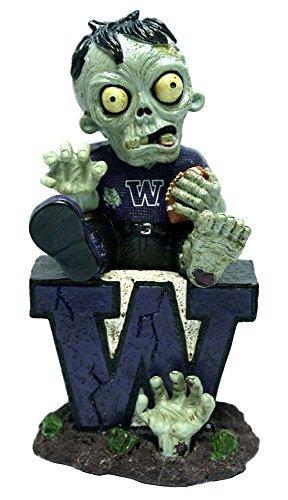 Washington Sitting On Logo Zombie With Football -