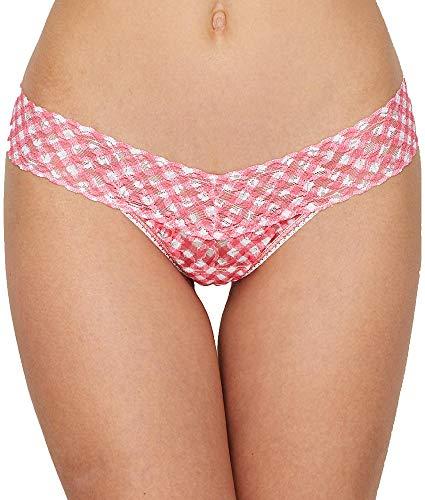 (Hanky Panky Women's Do-Si-Do Low Rise Thong Multi One Size)