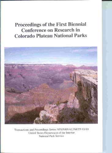 Examples of resource inventory and monitoring in national parks of California: Proceedings of the Third Biennial Conference on Research in ... (Transactions and proceedings series)