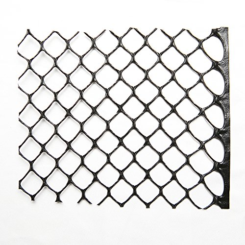 Poultry Fence-Physical Animal Barrier in -Rustless Plastic Hexagonal Mesh-For Chicken or other Pets, 3ft x 25ft by NaiteNet (Image #5)