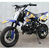 Dirt bike 70cc Semi Automatic, Blue