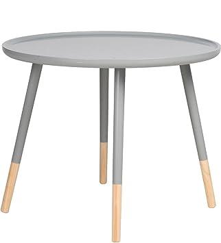 Designer Tisch Rund retro design tisch rund holz beistelltisch couchtisch sofatisch ø 60
