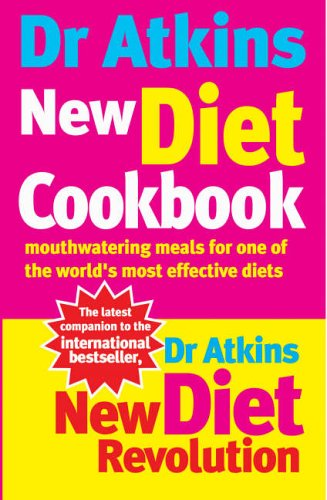 Dr Atkins New Diet Cookbook: Mouthwatering Meals For One Of ...