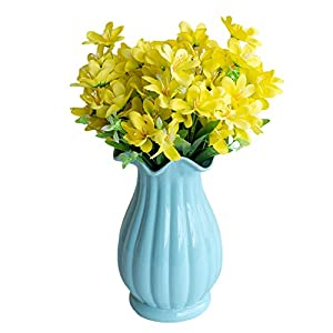 YHCWJZP 6 Branches/1Pc Artificial Flower Narcissus Simulation Office Home Decoration - Yellow 22