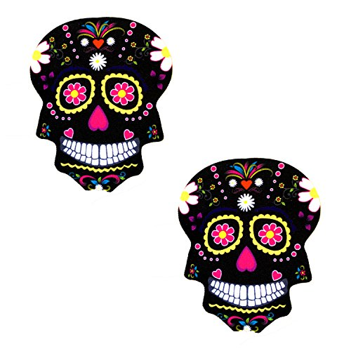 Neva Nude Freaking Awesome Skull Nipztix Pasties Nipple Covers