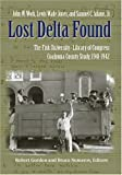Lost Delta Found, Lewis Wade Jones and John W. Work, 0826514855