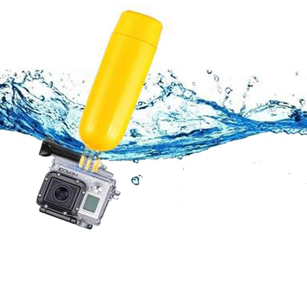 Semoic Floating Grip Handheld Stick Monopod for GoPro Hero 7/6/5/ Session/ 4 Session/ 4/3+/ 3/2/1, SJ4000/SJ5000, with Long Handle Screw and Wrist Strap by Semoic (Image #1)