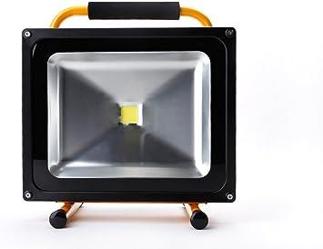 AGM 50W 5000LM Foco Proyector LED Recargable Portátil Luz de ...