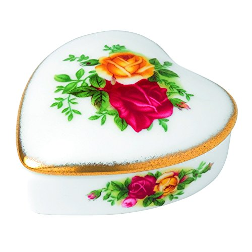 Royal Albert Old Country Roses Heart - Doulton Country Royal Roses Old