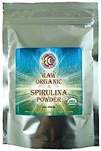 Earth Circle Organics Spirulina Powder, 8-Ounce