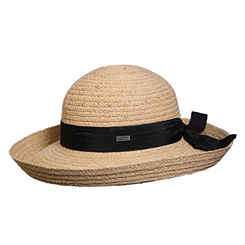 Conner Hats Women's Tiburon Ladies Raffia Hat, Natural, OS Beige from Conner Hats