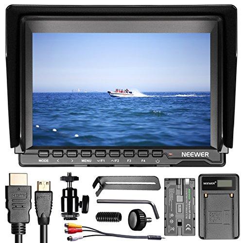 Neewer NW74K 7 Inches Ultra HD 4K 1280x800 IPS Screen Camera