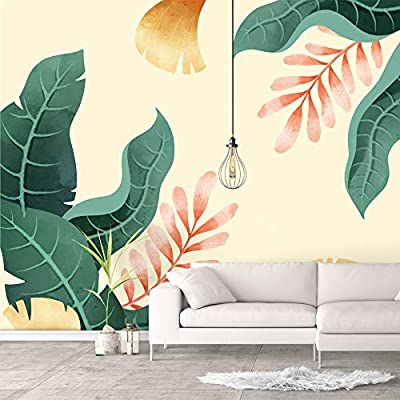 Classic Artwork, Amazing Design, Wall Murals for Bedroom Green Plants Animals Removable Wallpaper Peel and Stick Wall Stickers