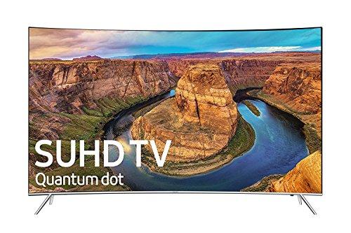 Samsung UN65KS8500 / UN65KS850D Curved 65-Inch 4K SUHD Smart LED TV (2016 Model) (Certified Refurbished)